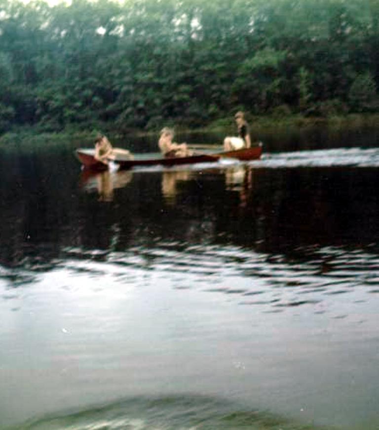 Seaman Lake - Deb, Lar, Cor, Joe