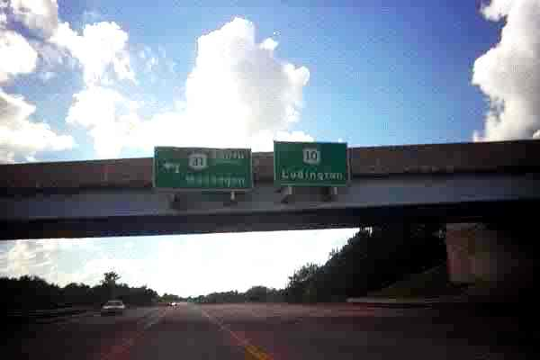 US 10 Ludington