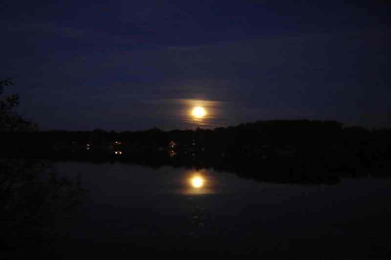 Bass Lake Evening