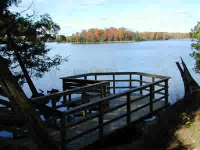 Big Bass Lake Deck