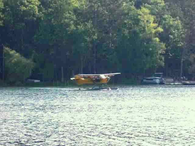 Bass Lake Plane at Harpet Lake