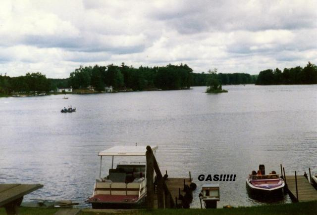 The Days of Gasoline on Big Bass Lake