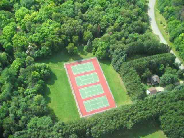 Mishawaka Tennis by Air