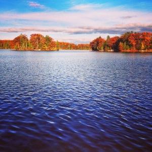 Big Bass Lake in November